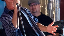 Planet D Nonet's T-Bone showing why he's an award winning musician